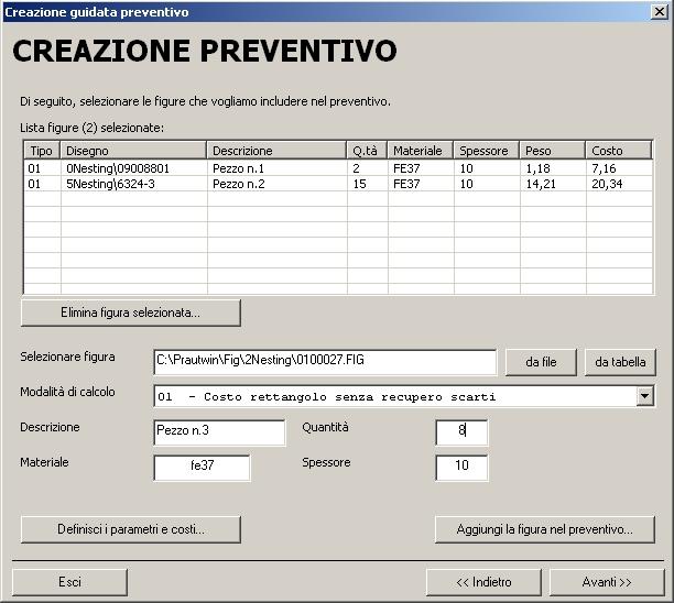 Praut cn 2d intersystems srl for Preventivo ristrutturazione casa excel